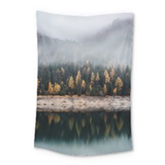 Trees Plants Nature Forests Lake Small Tapestry