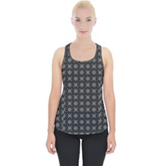 Kaleidoscope Seamless Pattern Piece Up Tank Top