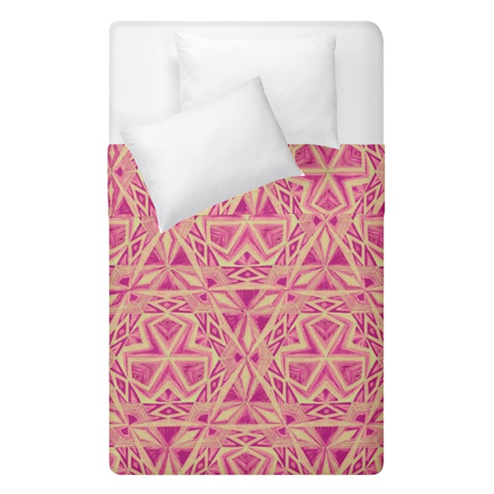 Tribal Pattern Hand Drawing Duvet Cover Double Side (Single Size)