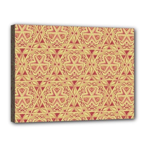 Tribal Pattern Hand Drawing 2 Canvas 16  X 12  by Cveti