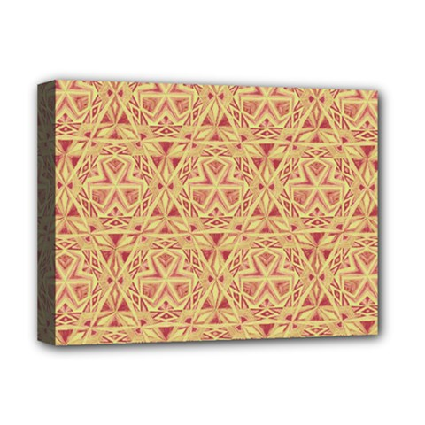 Tribal Pattern Hand Drawing 2 Deluxe Canvas 16  X 12   by Cveti