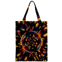 Spiky Abstract Classic Tote Bag by linceazul
