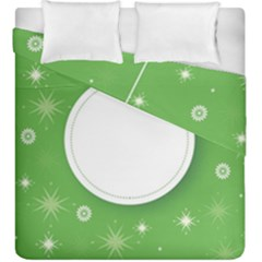 Christmas Bauble Ball Duvet Cover Double Side (king Size) by BangZart