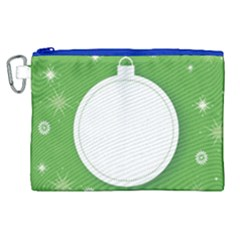 Christmas Bauble Ball Canvas Cosmetic Bag (xl)