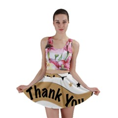 Thank You Lettering Thank You Ornament Banner Mini Skirt by BangZart