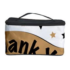 Thank You Lettering Thank You Ornament Banner Cosmetic Storage Case