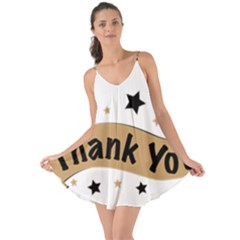 Thank You Lettering Thank You Ornament Banner Love The Sun Cover Up