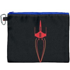 Ship Space Spaceship Canvas Cosmetic Bag (xxxl)