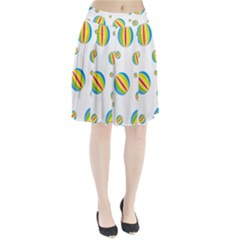 Balloon Ball District Colorful Pleated Skirt