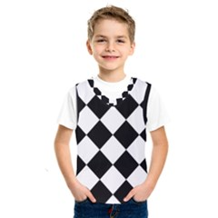 Grid Domino Bank And Black Kids  Sportswear
