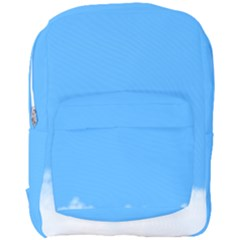 Sky Blue Blue Sky Clouds Day Full Print Backpack