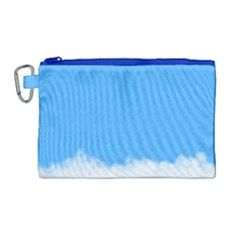 Sky Blue Blue Sky Clouds Day Canvas Cosmetic Bag (large)