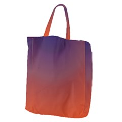 Course Colorful Pattern Abstract Giant Grocery Zipper Tote