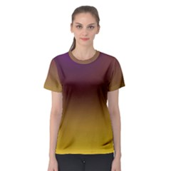 Course Colorful Pattern Abstract Women s Sport Mesh Tee