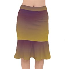 Course Colorful Pattern Abstract Mermaid Skirt