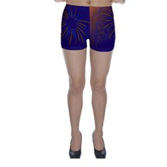 Sylvester New Year S Day Year Party Skinny Shorts
