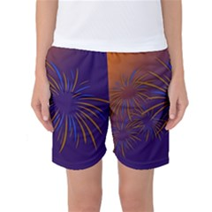 Sylvester New Year S Day Year Party Women s Basketball Shorts