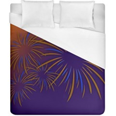 Sylvester New Year S Day Year Party Duvet Cover (california King Size)