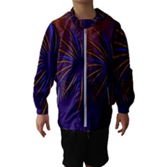 Sylvester New Year S Day Year Party Hooded Wind Breaker (kids)