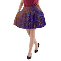 Sylvester New Year S Day Year Party A Line Pocket Skirt