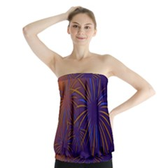 Sylvester New Year S Day Year Party Strapless Top