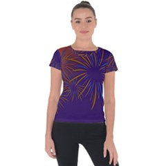 Sylvester New Year S Day Year Party Short Sleeve Sports Top