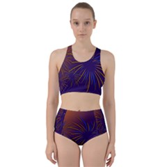 Sylvester New Year S Day Year Party Racer Back Bikini Set