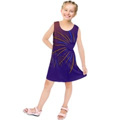 Sylvester New Year S Day Year Party Kids  Tunic Dress