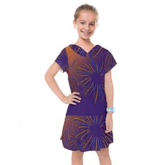 Sylvester New Year S Day Year Party Kids  Drop Waist Dress