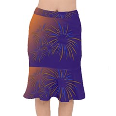 Sylvester New Year S Day Year Party Mermaid Skirt