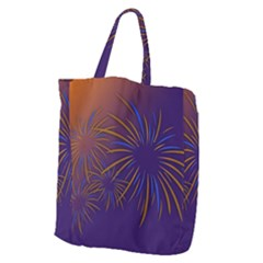 Sylvester New Year S Day Year Party Giant Grocery Zipper Tote