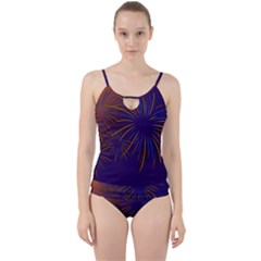 Sylvester New Year S Day Year Party Cut Out Top Tankini Set