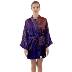 Sylvester New Year S Day Year Party Long Sleeve Kimono Robe