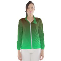 Course Colorful Pattern Abstract Wind Breaker (women)