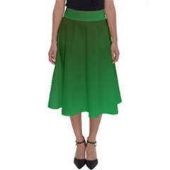 Course Colorful Pattern Abstract Perfect Length Midi Skirt