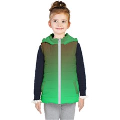 Course Colorful Pattern Abstract Kid s Puffer Vest