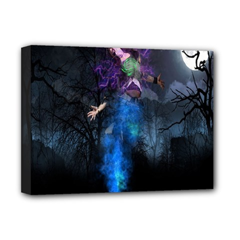 Magical Fantasy Wild Darkness Mist Deluxe Canvas 16  X 12   by BangZart