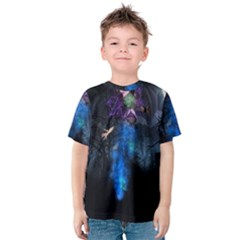 Magical Fantasy Wild Darkness Mist Kids  Cotton Tee