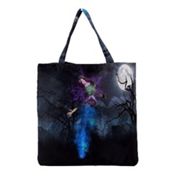Magical Fantasy Wild Darkness Mist Grocery Tote Bag