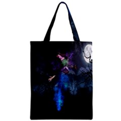 Magical Fantasy Wild Darkness Mist Zipper Classic Tote Bag