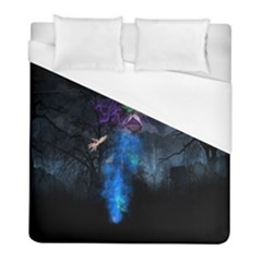 Magical Fantasy Wild Darkness Mist Duvet Cover (full/ Double Size)