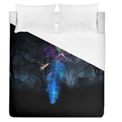 Magical Fantasy Wild Darkness Mist Duvet Cover (queen Size)