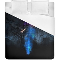 Magical Fantasy Wild Darkness Mist Duvet Cover (california King Size)