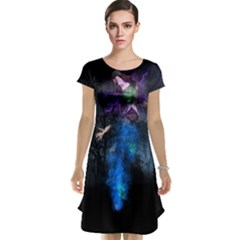 Magical Fantasy Wild Darkness Mist Cap Sleeve Nightdress