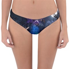 Magical Fantasy Wild Darkness Mist Reversible Hipster Bikini Bottoms