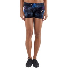 Magical Fantasy Wild Darkness Mist Yoga Shorts