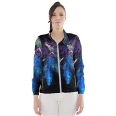 Magical Fantasy Wild Darkness Mist Wind Breaker (women)