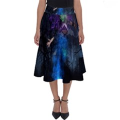 Magical Fantasy Wild Darkness Mist Perfect Length Midi Skirt