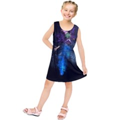 Magical Fantasy Wild Darkness Mist Kids  Tunic Dress