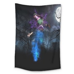 Magical Fantasy Wild Darkness Mist Large Tapestry